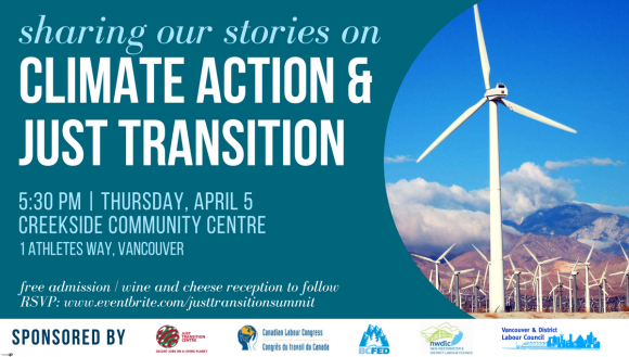 Sharing our Stories on Climate Action & Just Transition